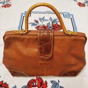 Vintage ADI-ORR Hana Rozenne Doctor Bag Top Handle